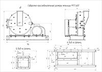 Габаритно-присоединительные размеры МТП-600