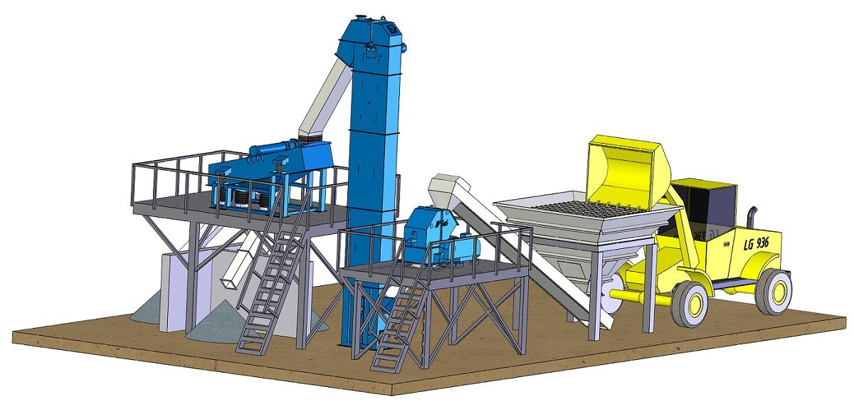 Дробильно сортировочная установка в Шумерля овоще дробилка покупка в беларуси