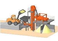 Комплекс оборудования для рассеивания песка