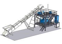 Проект линии переработки отходов при производстве строительных материалов